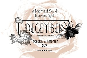 December Typeface (70% Off)