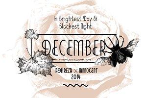 December Typeface (70% Off)