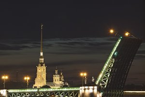 Evening Saint-Petersburg