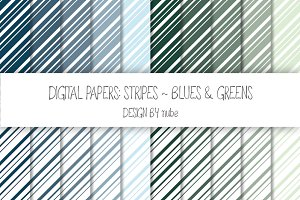 Stripes ~ Seamless Patterns