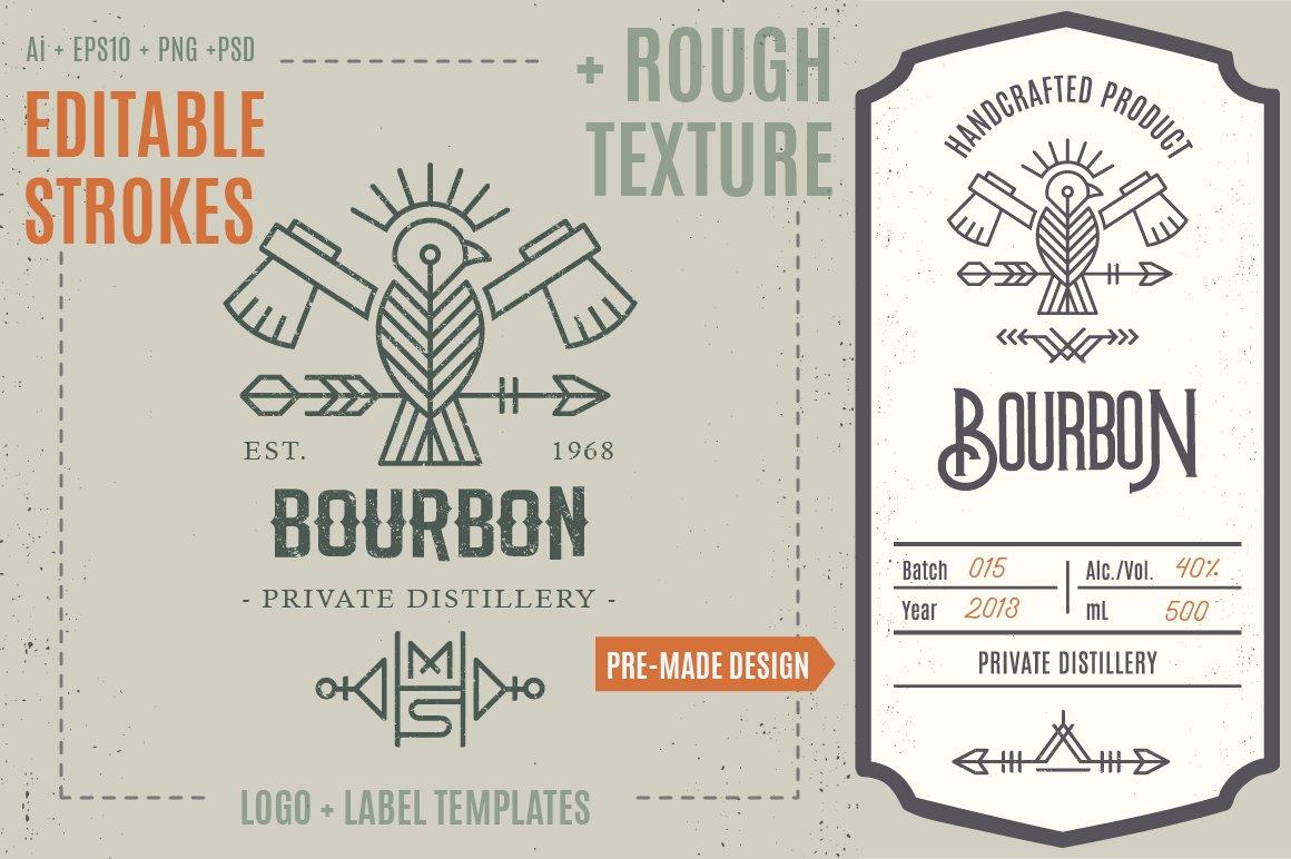 Bird Logo/Label Template ~ Logo Templates ~ Creative Market
