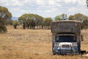 Retired Old Storage Van
