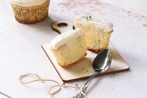 Vanilla Cupcake (inside)
