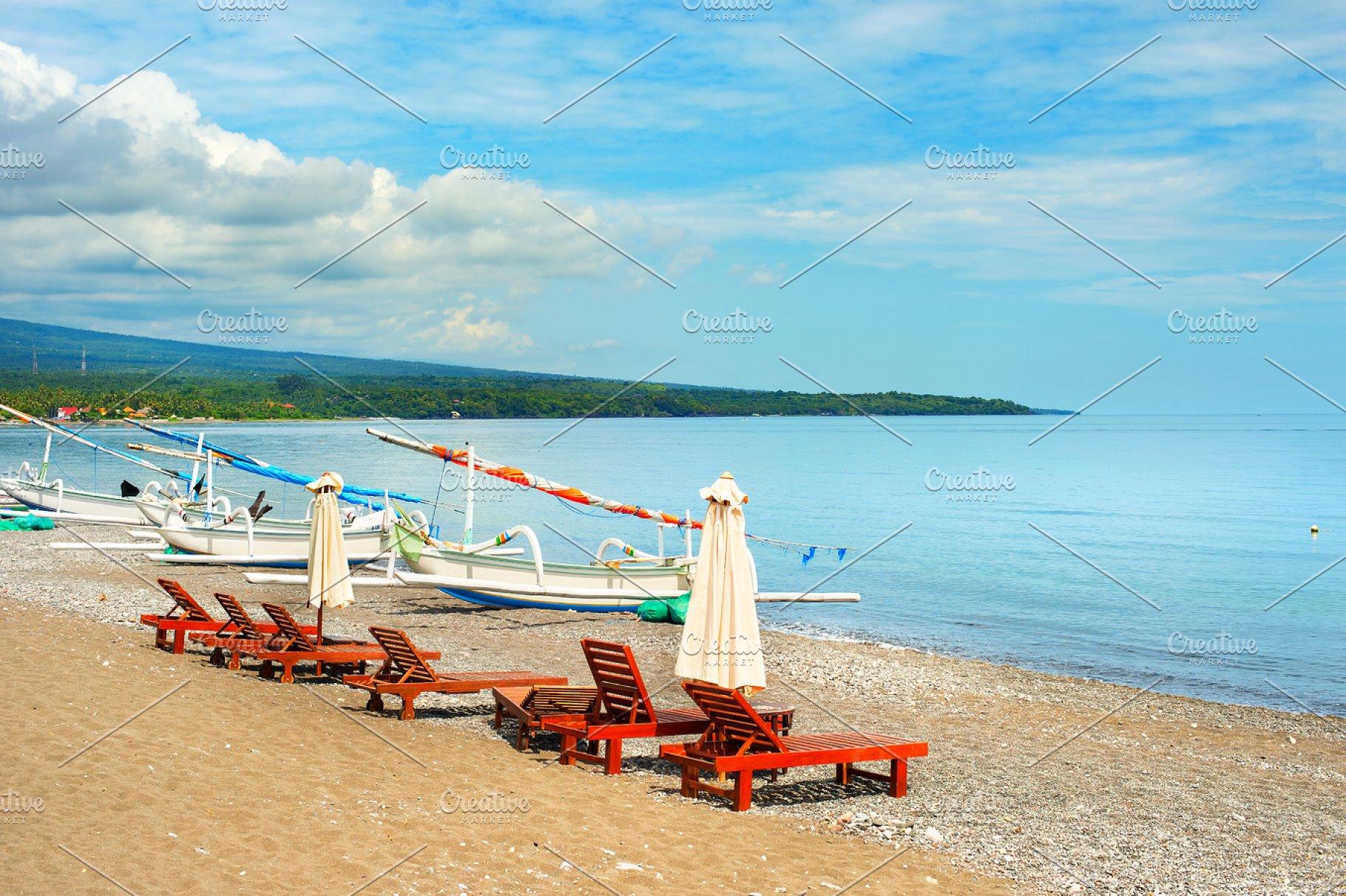 Amed Beach Bali Island Indonesia Nature Photos Creative Market