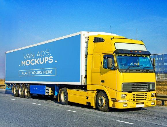 Van Signage Mockup
