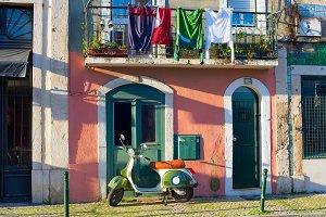 Sharming Lisbon Old Town street