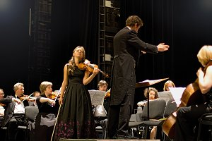 Concert of symphonic music