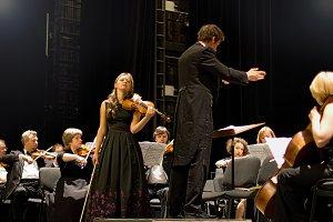 Concert of symphonic music