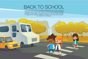 Traffic safety. Back to School.