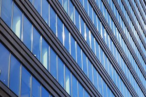 Modern architecture: Sky, Glass and Reflections