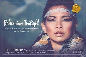 LR Preset: BOHEMIAN TWILIGHT