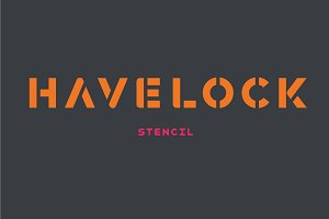 Havelock Stencil