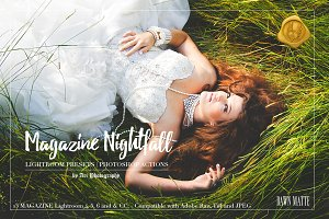 LR Preset: Magazine Nightfall