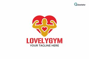 Lovely Gym Logo Template