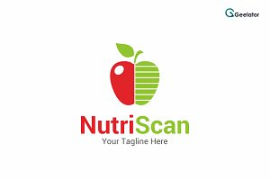 Nutri Scan Logo Template