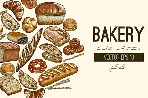 Bakery Vector Full Color Collection