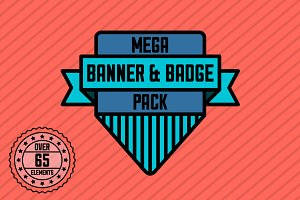Mega Banner & Badge Pack