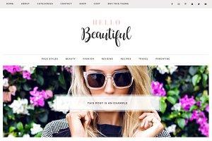 Beautiful Wordpress Theme Ecommerce