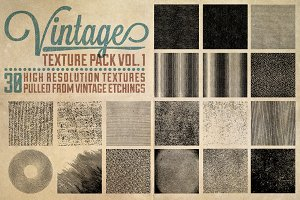 Vintage Texture Pack Vol. 1