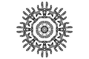 Round pattern design