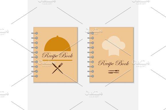 Recipe Book Designs Illustrations Creative Market