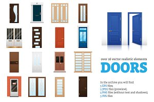 Doors Vector Set