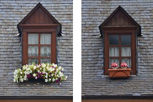 Two windows