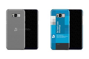 Galaxy S8 Plus 3d IMD Film Case