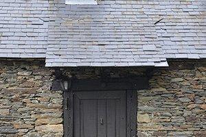 House facade made of stone