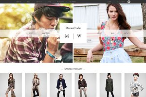 DressCode Bootstrap Site Themes