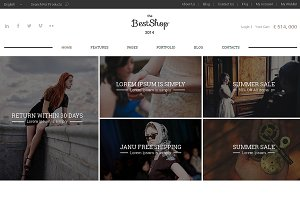 Best Shop Responsive Bootstrap Theme