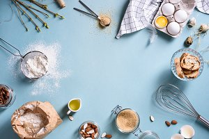 Baking or cooking background