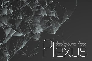 Vector Atomic Plexus Background Pack
