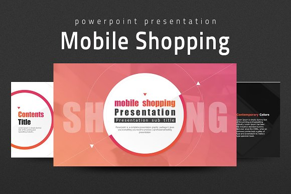 Mobile Shopping Presentation