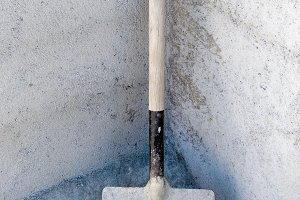Dirty shovel