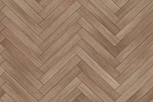 Seamless wood parquet texture (herringbone brown)