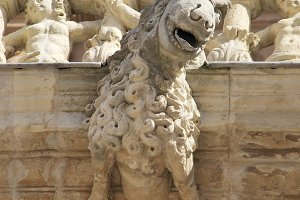 Gargoyle of Astorga Cathedral
