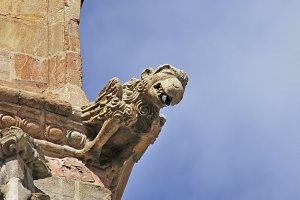 Astorga gargoyle, Leon, Spain