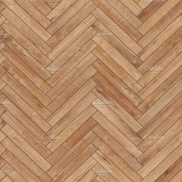 Seamless Wood Parquet Texture Herringbone Light Brown Textures