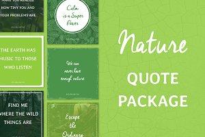 Social Media Quotes - Nature