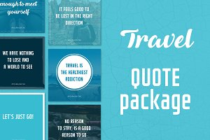 Social Media Quotes - Travel