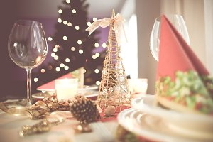 Christmas Table Setting #2