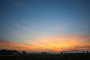 Wonderful Sunset Background