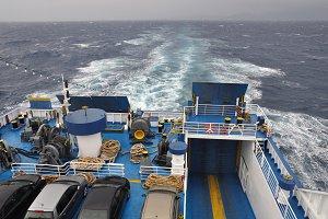 Ferry Boat Sea