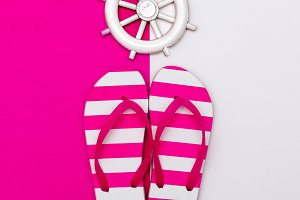 Flip-flops. Sea style.