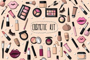 Cosmetic Kit - Graphic Pack
