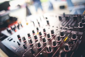 DJ Mix Close-up