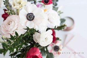 Floral Image, Anemone & Ranunculus