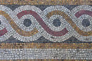Mosaic Circles Pattern
