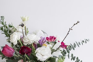 Flower Stock Image, Ranunculus